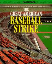 Cover of: The great American baseball strike