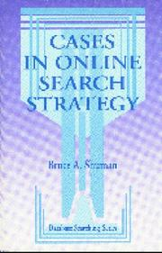 Cover of: Cases in online search strategy