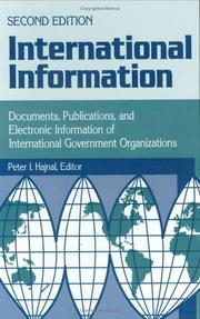 Cover of: International Information