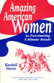 Cover of: Amazing American women: 40 fascinating 5-minute reads