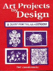 Cover of: Art projects by design