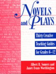 Cover of: Novels and plays