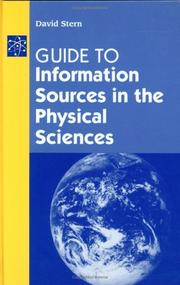 Cover of: Guide to information sources in the physical sciences