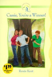 Cover of: Cassie, you're a winner!