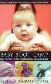 Cover of: Baby Boot Camp | Rebecca Ingram Powell
