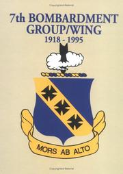 Cover of: 7th Bombardment Group Wing (1919 - 1995 | Turner Publishing Company