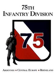 Cover of: 75th Infantry Division | Turner Publishing Company