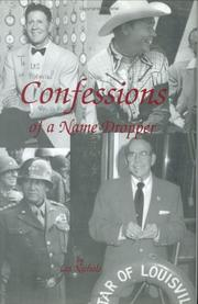 Cover of: Confessions of a Name Dropper | Les Nichols