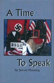 Cover of: A time to speak