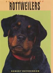 Cover of: Rottweilers