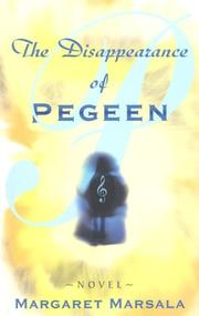 Cover of: The disappearance of Pegeen