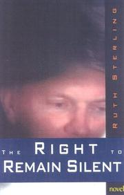 Cover of: The right to remain silent