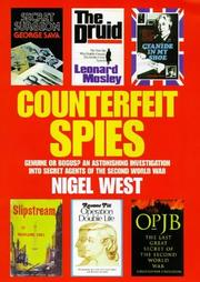 Cover of: Counterfeit Spies (Nigel West Intelligence Library)