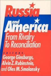Cover of: Russia and America | George Ginsburgs
