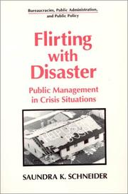 Cover of: Flirting with disaster