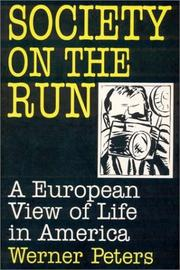 Cover of: Society on the run