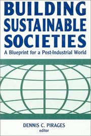 Cover of: Building Sustainable Societies | Dennis C. Pirages