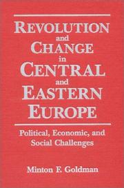 Cover of: Revolution and change in Central and Eastern Europe
