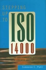 Cover of: Stepping up to ISO 14000
