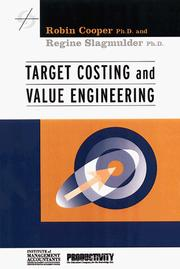 Cover of: Target costing and value engineering