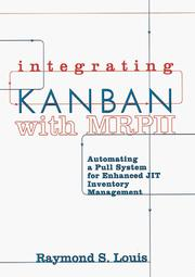 Cover of: Integrating Kanban with MRPII