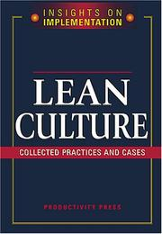 Cover of: Lean Culture |