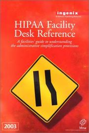 Hipaa Facility Desk Reference