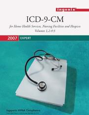 Cover of: ICD-9-CM 2007 Expert for Home Health Services , Nursing, Facilities, and Hospices |