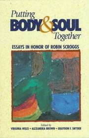 Cover of: Putting body and soul together