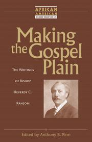 Cover of: Making the Gospel Plain