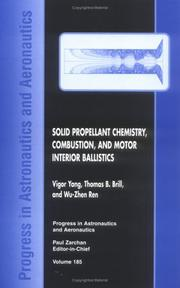 Cover of: Solid Propellant Chemistry Combustion and Motor Interior Ballistics 1999 (Progress in Astronautics and Aeronautics) | Thomas B. Brill
