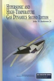 Cover of: Hypersonic and High Temperature Gas Dynamics (AIAA Education) (Aiaa Education Series)