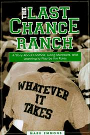 Cover of: The last chance ranch | Mark Emmons