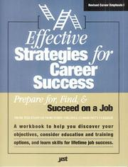Cover of: Effective Strategies for Career Success |