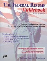 Cover of: The federal resume guidebook