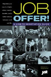 Cover of: Job Offer! A How-To Negotiation Guide |