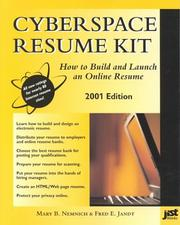 Cover of: Cyberspace Resume Kit 2001 | Mary B. Nemnich