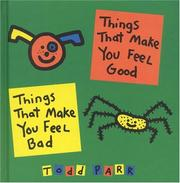 Cover of: Things that make you feel good/things that make you feel bad