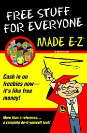 Cover of: Free stuff for everyone made E-Z