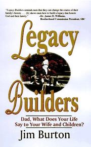 Cover of: Legacy builders