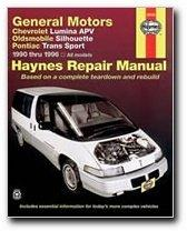 Cover of: General Motors Chevrolet Lumina APV, Oldsmobile Silhouette, Pontiac Trans Sport automotive repair manual