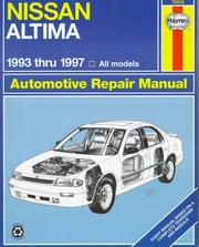 Cover of: Nissan Altima automotive repair manual | John Harold Haynes