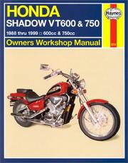 Cover of: Honda VT600 and VT750 Shadow V-twins owners workshop manual: 1988-2003