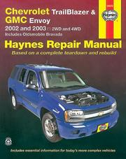 Cover of: Haynes Chevrolet Trail Blazer, GMC Envoy 2002 thru 2003 | John Harold Haynes