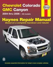 Cover of: Chevrolet Colorado & GMC Canyon,