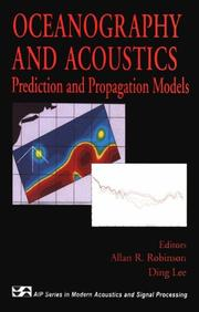Cover of: Oceanography and acoustics