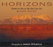 Cover of: Horizons: poems as far as the eye can see