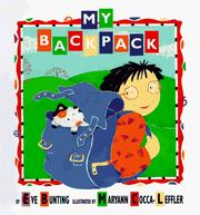 Cover of: My Backpack