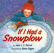 Cover of: If I had a snowplow
