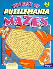Cover of: The Best of Puzzlemania Mazes | Jeffrey A. O